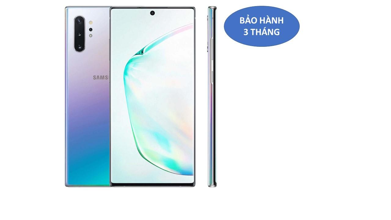 Samsung Galaxy Note 10 Plus 5G Hàn mầu bạc đa sắc hình thức đẹp, full pk
